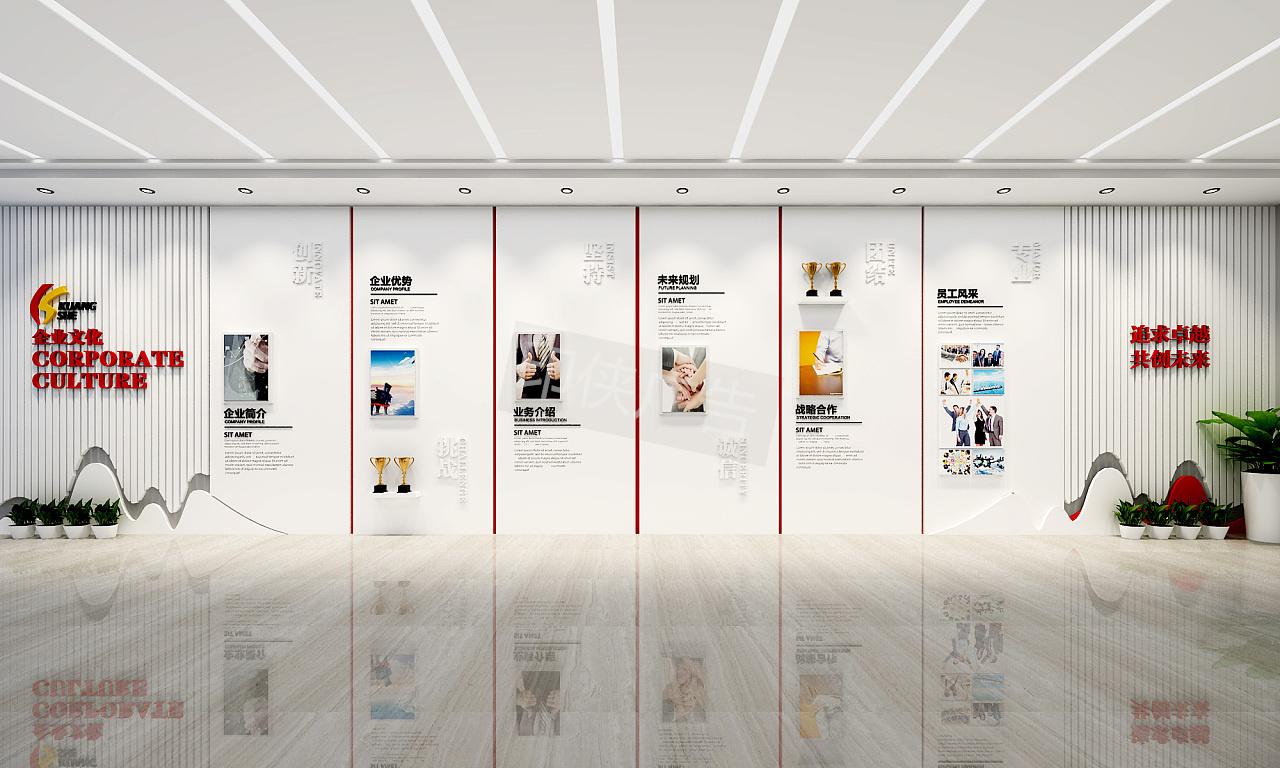 企业高端形象墙该如何设计才能提升企业定位?