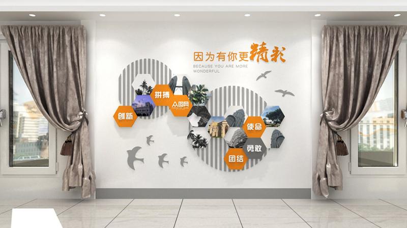 企业文化墙,文化墙设计,企业文化墙设计